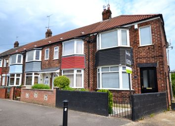 Thumbnail 2 bed end terrace house for sale in Ryde Avenue, Hull