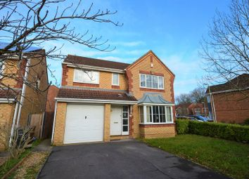 Thumbnail 4 bed detached house for sale in Cranmer Drive, Nursling, Southampton
