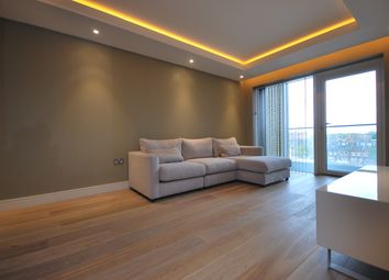 Thumbnail 1 bed flat to rent in Parrs Way, London W6,