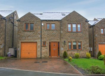 Thumbnail 5 bed detached house for sale in Greenfields, Sowerby Bridge, West Yorkshire