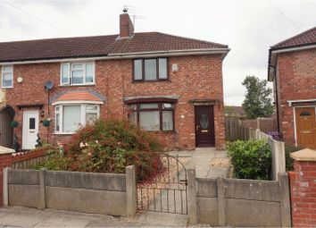 Thumbnail 3 bed end terrace house for sale in Hawksmoor Road, Liverpool