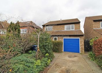 Thumbnail 4 bed detached house to rent in Thornton Road, Girton, Cambridge