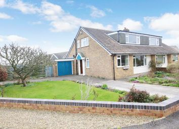 Thumbnail 3 bed semi-detached bungalow for sale in Ridge Green, Scalby, Scarborough