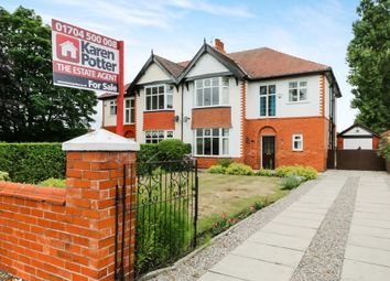 Thumbnail 4 bed semi-detached house for sale in Liverpool Road, Ainsdale, Southport