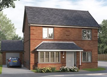 "Thumbnail 4 bed detached house for sale in ""The Kintbury"" at George Holmes Business Park, George Holmes Way, Swadlincote"