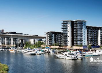 Thumbnail 2 bed flat for sale in Alexandria, Victoria Wharf, Cardiff Bay