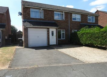 Thumbnail 3 bed semi-detached house to rent in Fife Close, Stamford, Lincolnshire