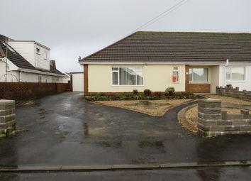 Thumbnail 3 bed semi-detached bungalow for sale in Penlan, Llanelli