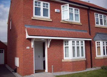 Thumbnail 3 bed semi-detached house for sale in Ravenser Court, Hedon