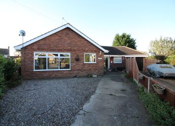 Thumbnail 5 bed detached bungalow for sale in The Close, Hemsby, Great Yarmouth