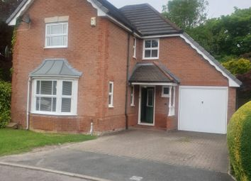 Thumbnail 4 bed detached house to rent in Hindley Close, Preston