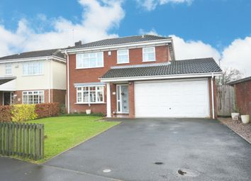 Thumbnail 4 bed detached house for sale in Stanbrook Road, Shirley, Solihull