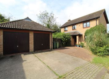Thumbnail 3 bed detached house for sale in Rochester Court, Milton Keynes