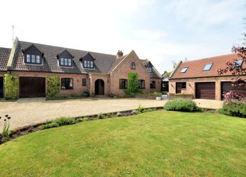 Thumbnail 6 bed detached house for sale in Walnut Road, Walpole St. Peter, Wisbech