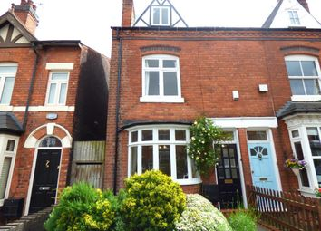 Thumbnail 3 bed end terrace house for sale in Regent Road, Harborne, Birmingham