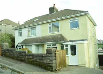 Thumbnail 4 bed semi-detached house for sale in Lon Mafon, Sketty, Swansea