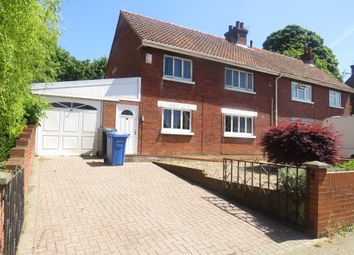 Thumbnail 3 bed semi-detached house for sale in Blyth Road, Norwich