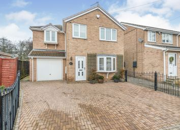 Thumbnail 4 bedroom detached house for sale in Chestnut Drive, South Hiendley, Barnsley