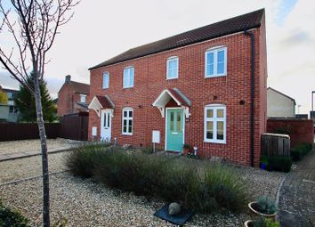 Thumbnail 3 bedroom semi-detached house for sale in Hartlake Close, Glastonbury