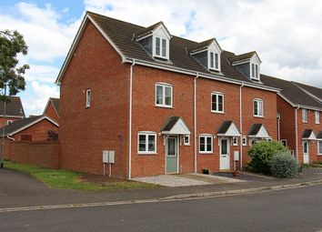 Thumbnail 3 bed terraced house to rent in Jubilee Way, Crowland, Peterborough