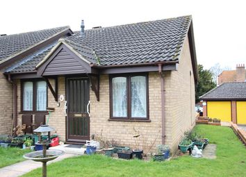 Thumbnail 1 bed bungalow for sale in Alasdair Place, Claydon, Ipswich, Suffolk