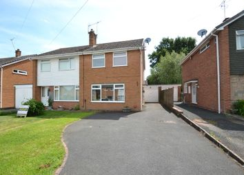 Thumbnail 3 bed semi-detached house for sale in Wallshead Way, Church Aston, Newport