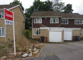 Thumbnail 3 bed end terrace house for sale in St Evox Close, Rownhams, Southampton