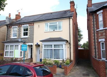 Thumbnail 4 bedroom semi-detached house for sale in Wantage Road, Reading