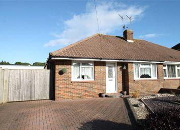 Thumbnail 2 bed semi-detached bungalow for sale in Fircroft Crescent, Rustington, West Sussex