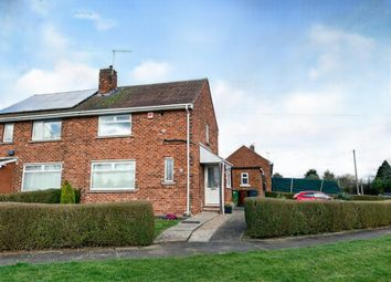 Thumbnail 2 bed semi-detached house for sale in Laughton Way, Lincoln
