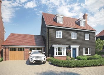 Thumbnail 5 bed detached house for sale in Regiment Gate, Off Essex Regiment Way, Chelmford, Essex