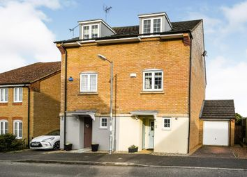 Thumbnail 3 bed semi-detached house for sale in Basil Drive, Downham Market