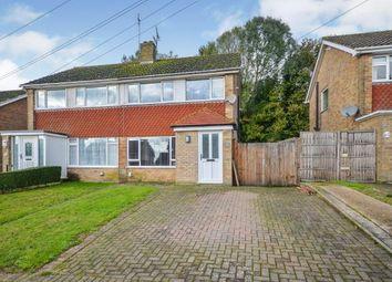 Thumbnail 3 bed semi-detached house for sale in Cradlebridge Drive, Willesborough, Ashford, Kent
