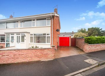 Thumbnail 3 bed semi-detached house for sale in Rydon Crescent, Cannington, Bridgwater