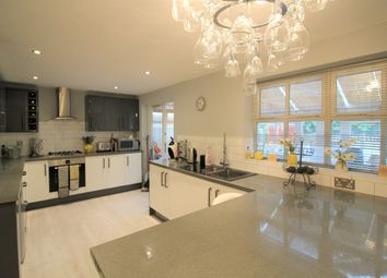 Thumbnail 5 bed detached house for sale in Durrell Way, Lowton, Warrington