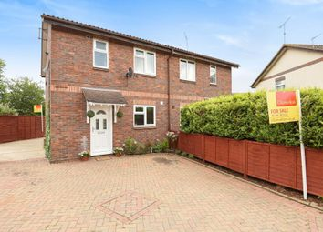 Thumbnail 3 bedroom semi-detached house for sale in Nappin Close, Aylesbury