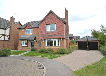 Thumbnail 4 bedroom detached house for sale in Quebec Close, Wootton, Northampton