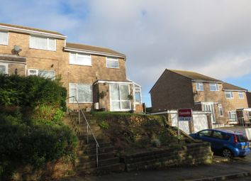 Thumbnail 3 bed semi-detached house for sale in Combe Fields, Portishead, Bristol