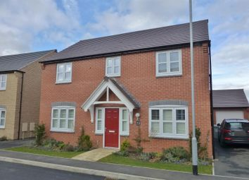 Thumbnail 4 bed detached house to rent in Kempton Drive, Barleythorpe, Oakham