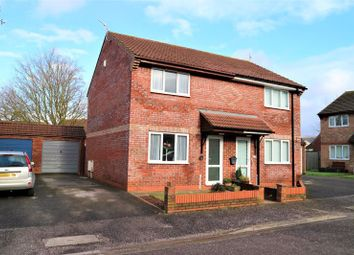 Thumbnail 2 bed semi-detached house for sale in Kebbys Farm Close, Williton, Taunton