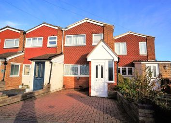 Thumbnail 3 bed terraced house to rent in Highlands Close, Rochester, Kent