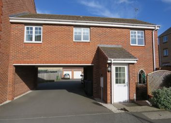 Thumbnail 2 bed property for sale in Izod Road, Rugby