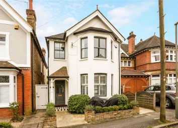 Thumbnail 3 bed detached house for sale in Hillbrow Road, Esher, Surrey