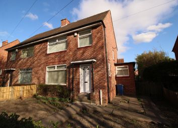 Thumbnail 3 bed semi-detached house for sale in Binswood Avenue, Newcastle Upon Tyne