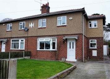 Thumbnail 3 bed semi-detached house for sale in Well Lane, Chester