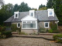 Thumbnail 2 bed detached house to rent in Hollylodge, Strachan, Banchory