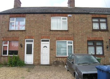 Thumbnail 2 bedroom terraced house to rent in Eastrea Road, Whittlesey, Peterborough