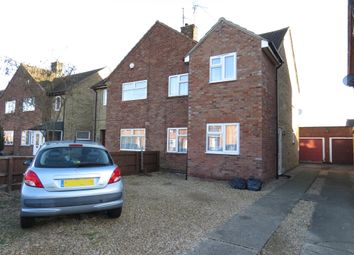 Thumbnail 3 bed semi-detached house for sale in Campion Road, Peterborough