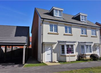 Thumbnail 3 bed semi-detached house for sale in Blackbourne Chase, Littlehampton