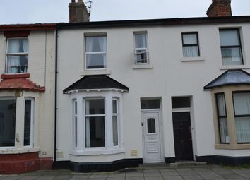 Thumbnail 3 bedroom terraced house for sale in Belmont Avenue, Blackpool
